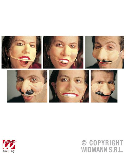 Funny Nose Mouth Cheeks 6 Styles Celebrity Juice Sorrow Game Hollywood Celeb Tv