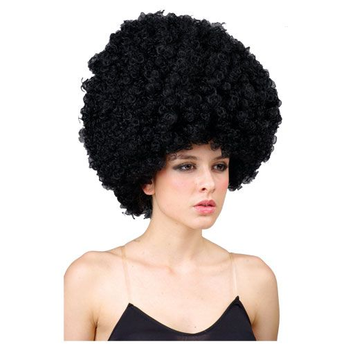 Giant Afro Wig for 70s Disco Hippie Fancy Dress