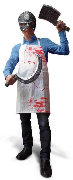 Halloween Apron Bloody Adult