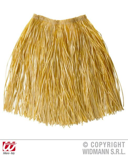 Hawaiian Straw Skirt 55cm Disposable Hawaii Elvis Magnum Five'O Lua Party
