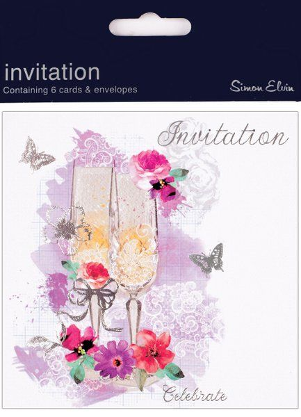 Invitation Open Foil 6 Pk