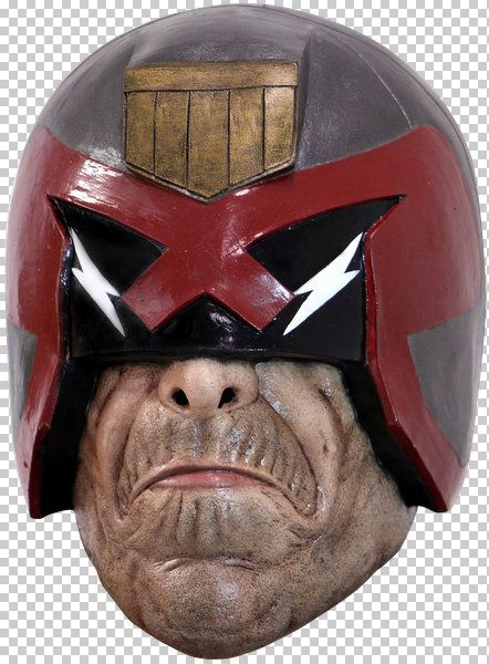Judge Dredd Helmet Full Overhead Head Mask Film Halloween Fancy Dress Cosplay