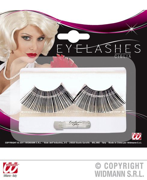 Jumbo Black Eyelashes Makeup Beauty Cosmetics