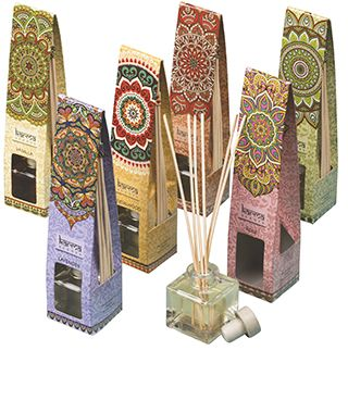 Karma Scents Reed Diffuser 60ml Oil with 6 Reed Sticks Choice of 6 Fragrances