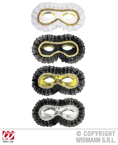 Lace Venice Eyemask Eye-Mask Masquerade Ball Mask Fancy Dress