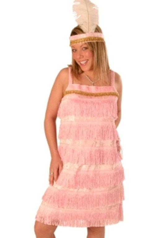 Ladies Charleston 2 Piece Dress 20s 30s Chorus Flapper