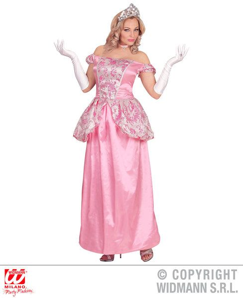 Ladies Charming Princess Costume Fairytale Prince Fancy Dress Cosplay