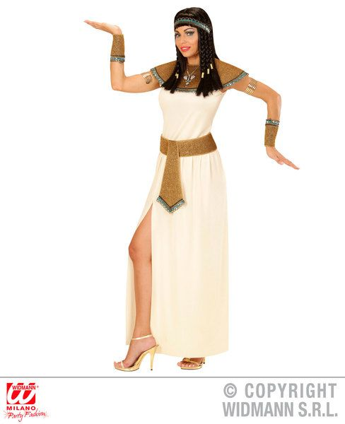 Ladies Cleopatra Costume Egpytian Queen Pharoah Book Week Fancy Dress Outfit