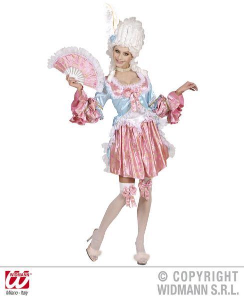 Ladies Comtesse De Rochambeu Costume Latin Parade Carnival Fancy Dress Outfit