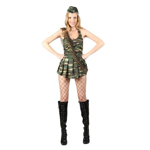 Ladies Cute Cadet Costume for Sexy Fancy Dress Womens