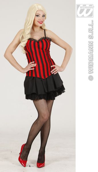Ladies Striped Corset Costume Sexy Erotic Sissy Cosplay Fancy Dress