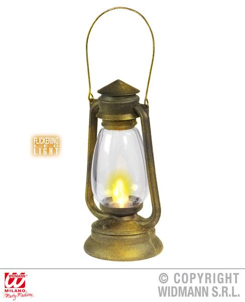 Lantern With Flickering Led Light Decoration Hawaiian Chinese Lampion Party