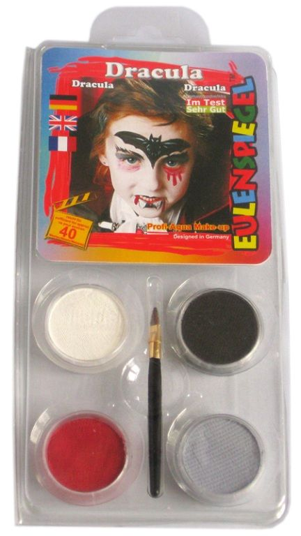 Makeup Designer A Face Pack Dracula Halloween