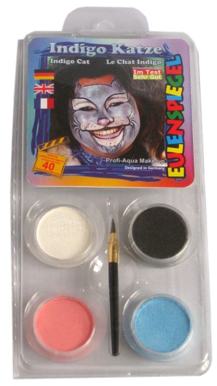 Makeup Designer A Face Pack Indigo Cat Halloween