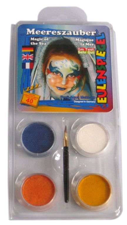 Makeup Designer A Face Pack Magic of the Sea Halloween