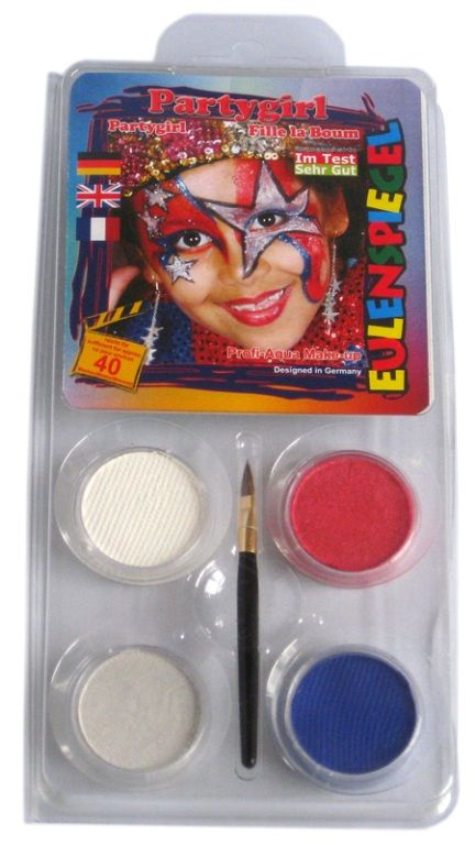 Makeup Designer A Face Pack Party Girl Halloween