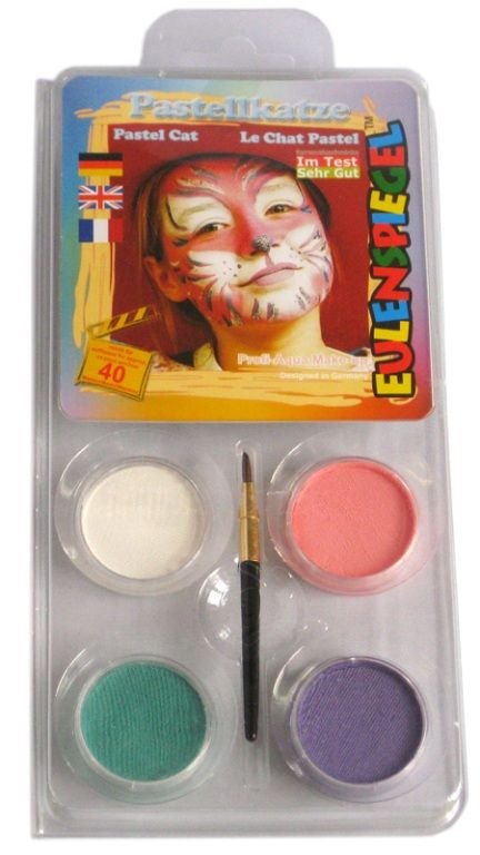 Makeup Designer A Face Pack Pastel Cat Halloween
