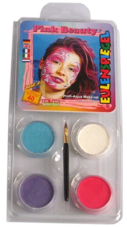 Makeup Designer A Face Pack Pink Beauty Halloween