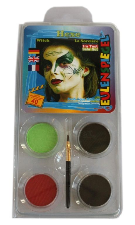 Makeup Designer A Face Pack Witch Halloween