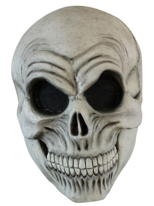 Mask Head Skull Guillotine Headless Beheaded Halloween Zombie Body Prop