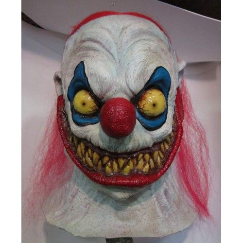 Mask Head Slappy the Clown Guillotine Halloween Zombie Body Prop