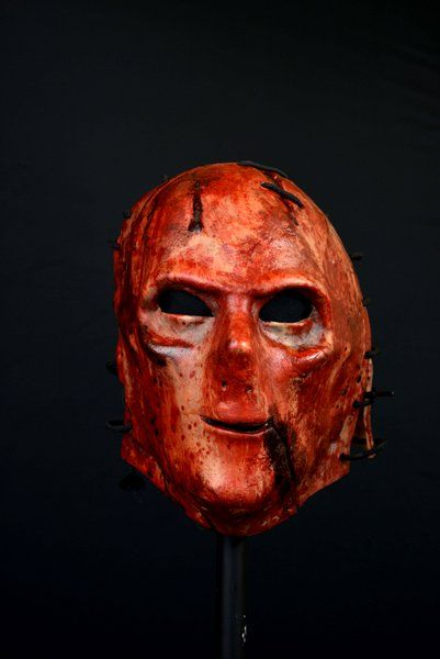 Mask Head The Orphan Killer Guillotine Halloween Zombie Body Prop
