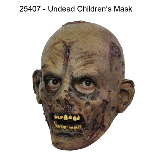 Mask Head Undead Junior Guillotine Headless Beheaded Halloween Zombie Body Prop