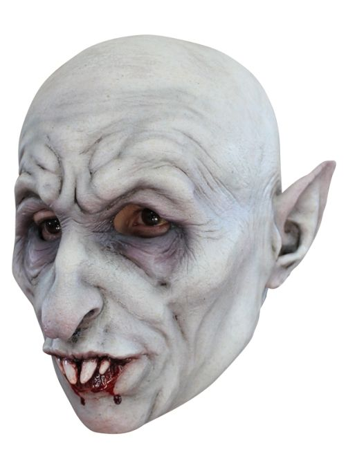 Mask Head Vampire Nosferatu Guillotine Halloween Zombie Body Prop