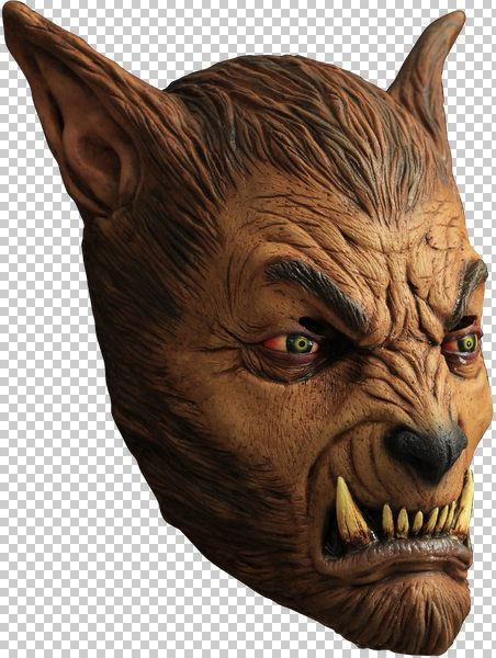 Mask Head Werewolf Beast Guillotine Headless Beheaded Halloween Zombie Body Prop
