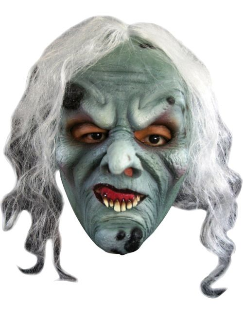 Mask Head Witch Green Guillotine Headless Beheaded Halloween Zombie Body Prop