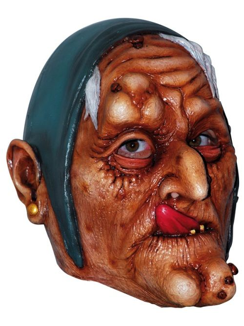 Mask Head Witch Guillotine Headless Beheaded Halloween Zombie Body Prop