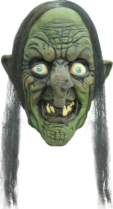 Mask Head Witch Madame Yidhra Guillotine Halloween Zombie Body Prop