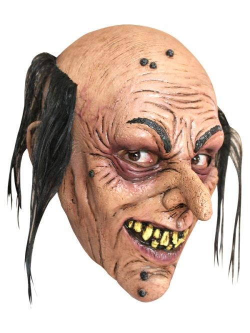 Mask Head Wizard Junior Guillotine Headless Beheaded Halloween Zombie Body Prop