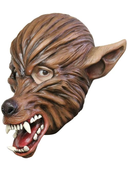 Mask Head Wolf Guillotine Headless Beheaded Halloween Zombie Body Prop