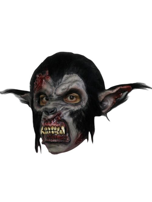 Mask Head Wolf Night Guillotine Headless Beheaded Halloween Zombie Body Prop