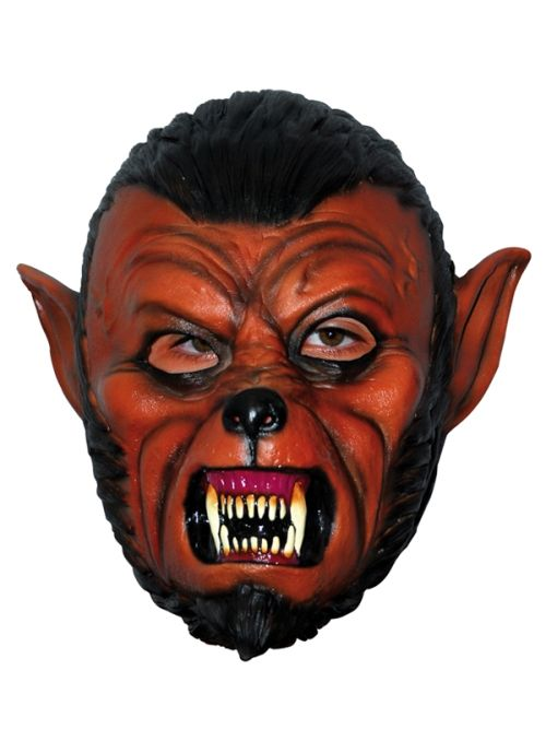 Mask Head Wolf Skull Guillotine Headless Beheaded Halloween Zombie Body Prop