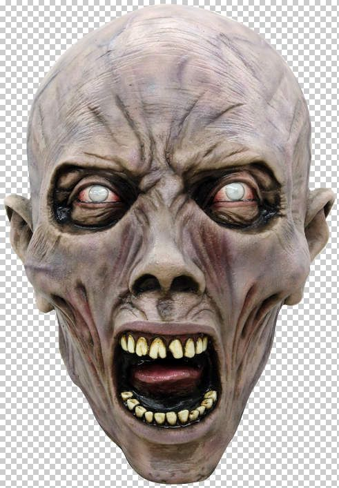 Mask Head WWZ Scream Zombie 1 Guillotine Halloween Zombie Body Prop