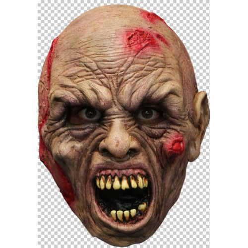 Mask Head Zombie Guillotine Headless Beheaded Halloween Zombie Body Prop