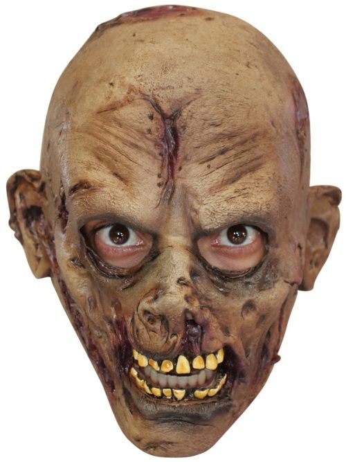 Mask Head Zombie Junior Guillotine Headless Beheaded Halloween Zombie Body Prop