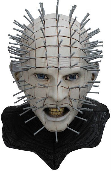 Mask Hellraisr 111 Pinhead Deluxe Halloween Masquerade Cosplay Fancy Dress Accessory