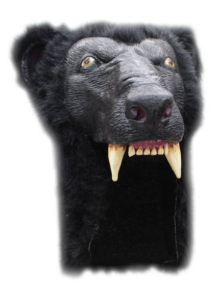 Mask Helmet Bear Baloo Animal Grizzly