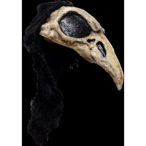 Mask Helmet Skull Crow Bird Pirate Halloween Skeleton Head
