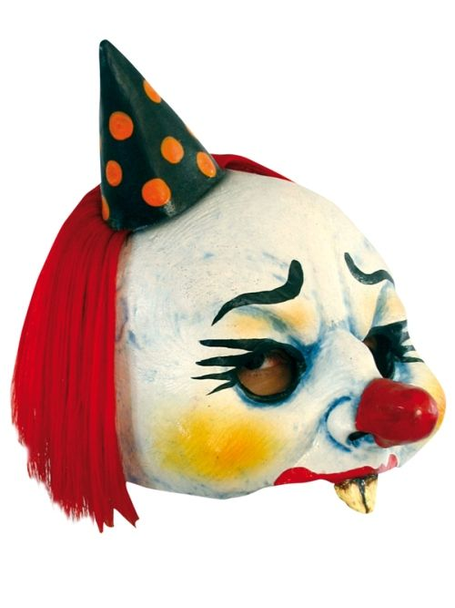 Mask Open Clown Yordi Carnival Pageant Amusement Park