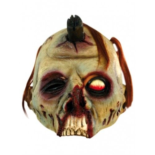 Mask Open Zombie Halloween Walking Dead Trick Or Treat