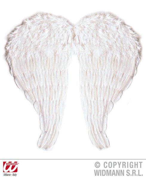 Maxi White Feather Wings  Bendable Angel Fairy Sprite Fancy Dress