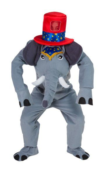 Mens Costume Circus Elephant Clown Big Top Pageant Parade Amusements