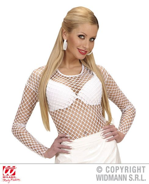 Mens M Size Fishnet Shirts Sexy Erotic Sissy Cosplay Fancy Dress