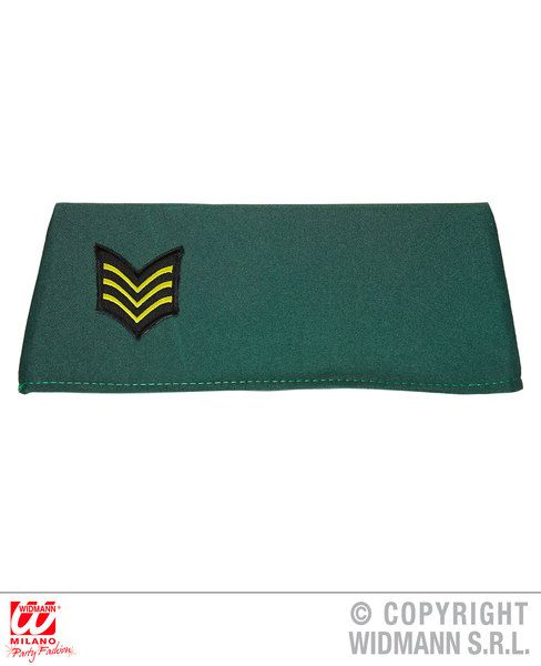 Military Side Cap Hat Army Uniform Military Soldier Fancy Dress