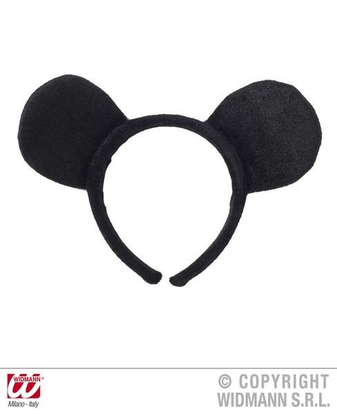 Mouse Ear Headband Hat Rodent Animal Creature Mammal Fancy Dress