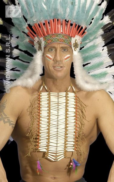 Native Indian Warrior Breastplate Apache Cherokee Navajo Shoshone Ute Plastic